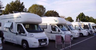 Motor Homes and Recreational Vehicles-Security